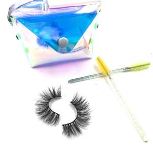 Manufacturer Best Selling Private Label Custom Package Logo Individual 3D Mink Eyelashes
