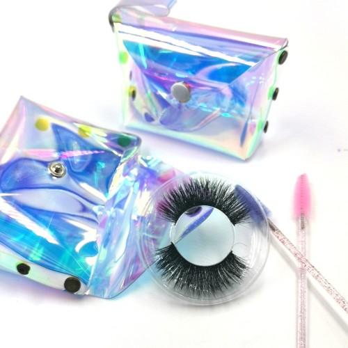Own Brand OEM Service Handmade Real Fur Fake EyeLash 3d Mink Eyelashes