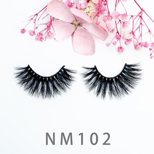 Best 3d Mink Eyelashes Manufacturer Self Adhesive Mink Lashes 20mm 100% Real Mink Individual Eyelash