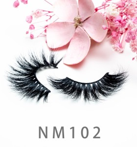 Best 3d Mink Eyelashes Manufacturer Self Adhesive Mink Lashes 20mm 100% Real Mink Individual Eyelash