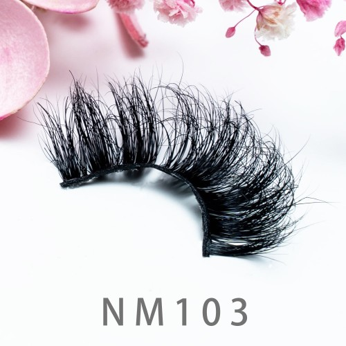 Private Label New Styles 3d Mink Eyelash Natural Looking Multi Layers 20MM Mink Eyelashes With Custom Packaging