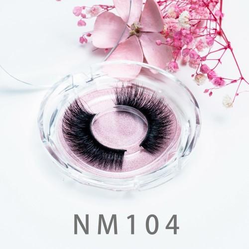 High Quality Mink Eyelashes Supplier 20MM 3d Mink Fur Strip False Eyelash With Private Label