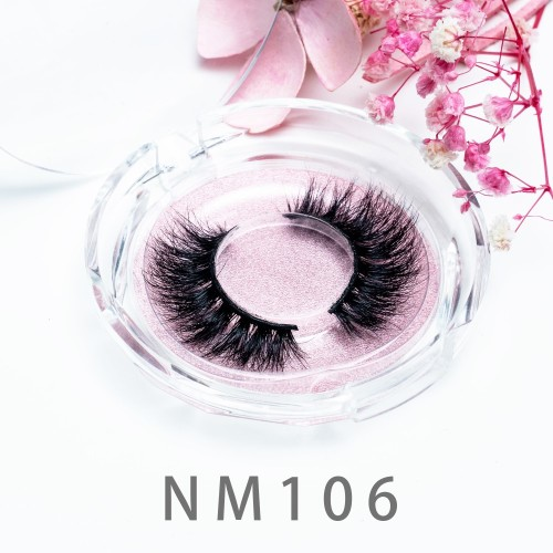 Best Quality Custom 20MM Mink Fur Eyelashes Wholesale Private Label Eyelash Real 3d Mink Lashes