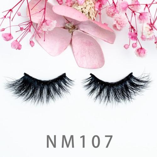 3d Mink Eyelashes Factory 100% Handmade Natural 3d Mink Fur Lashes With Eyelash Packaging Box