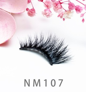 3d Mink Eyelashes Factory 100% Handmade Natural 3d Mink Fur Lashes With Eyelash Packaging Box
