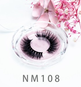 100% Natural Material Hand-Made Eyelash 3d Layered Effect 3d Mink Eyelashes Long Strip False Eyelashes