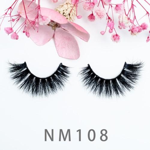 100% Natural Material Hand-Made Eyelash 3d Layered Effect 3d Mink Eyelashes Long Strip False Eyelashes
