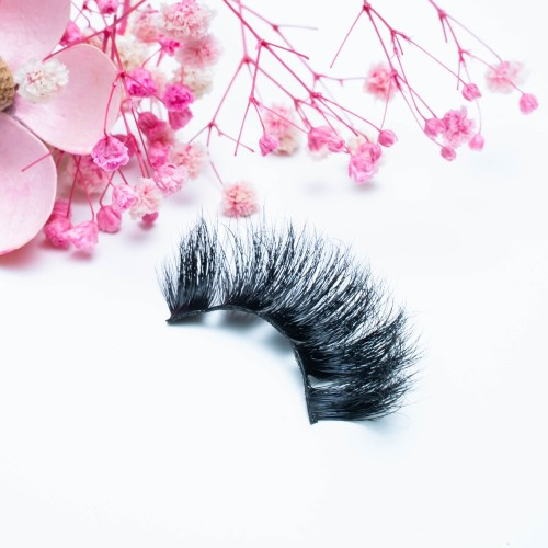 Best Sellers 22MM Mink Eyelashes Private Label Charming 100% Real 3d Mink Fur Lashes For Beauty