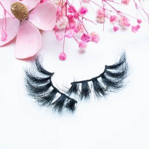 Private Label 3d Mink Eyelashes And Custom Packaging Box 100% Own Brand 22MM Mink Eyelash Fur Full Strip Lashes