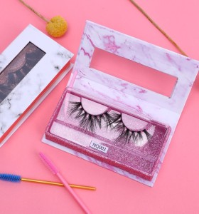 Wholesale 3d Mink Private Label Eyelashes  3d False Eyelashes With Custom Packaging Box