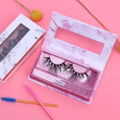 Wholesale 3d Mink Private Label Eyelashes  3d False Eyelashes With Custom Packaging Box