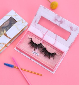 Wholesale Create Your Own Brand Eyelashes Long Lasting 22MM Mink Eyelash Eyelashes For Women