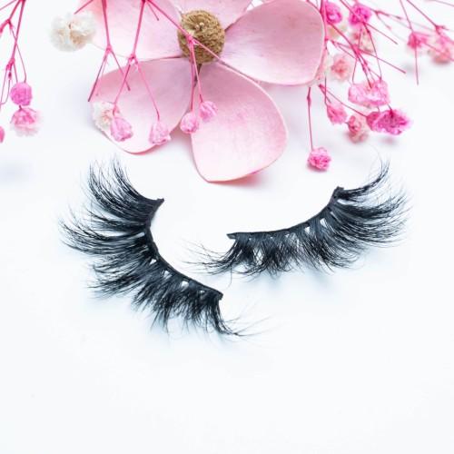 Wholesale Create Your Own Brand Eyelashes Long Lasting 22MM Mink Eyelash Eyelashes For Women