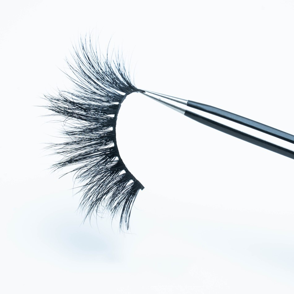 22mm 100% 3d Mink Strip Eyelashes
