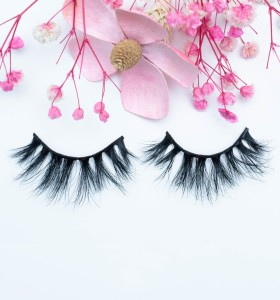 Wholesale New Design Private Label Natural Long Glamorous Make Own Brand Mink Eyelashes 3d Eyelash