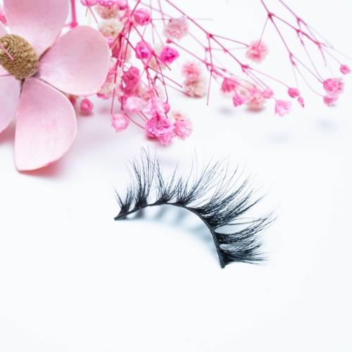 Wholesale New Design Private Label Natural Long Glamorous Make Own Brand Mink Eyelashes 3d Eyelash