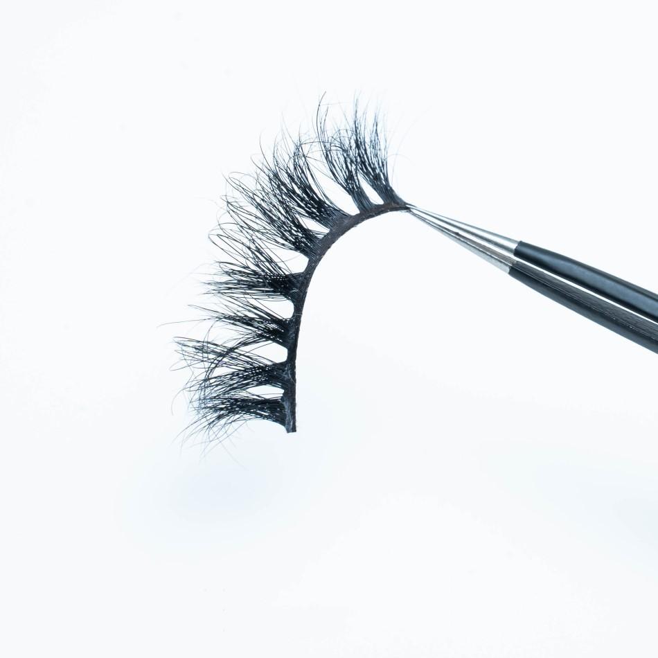 22mm 100% 3d Mink Strip Eyelashes