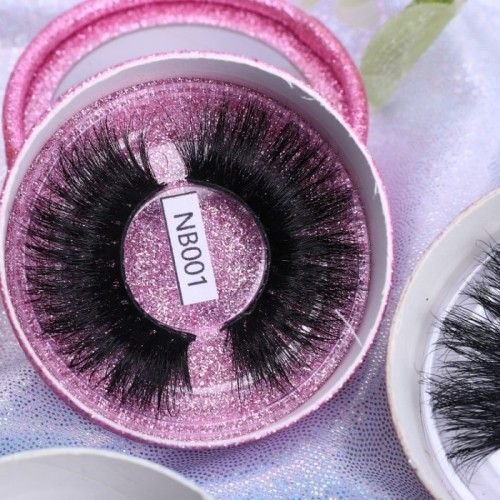 Top Seller New Design Oem And Odm Accepted Natural Long 3d Mink Strip Lashes Eyelashes