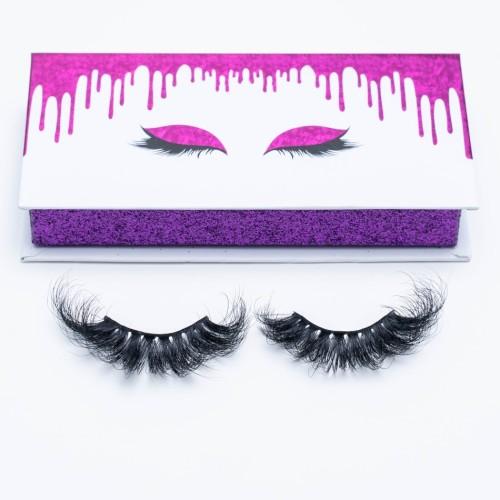 Wholesale New Design Natural Soft And Black Volume Fake Cluster Eyelash 3d Mink Eyelashes