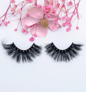Wholesale New Design Natural Soft And Black Volume Fake Cluster Eyelash 3d Mink Eyelashes