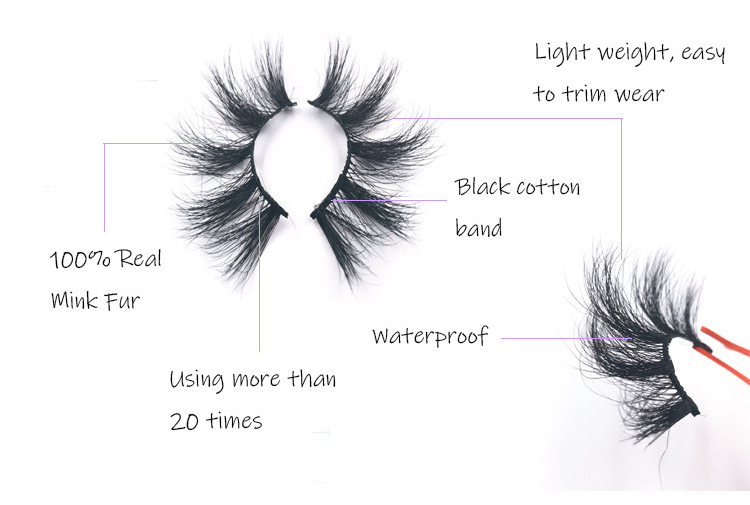 25mm mink lashes for sale