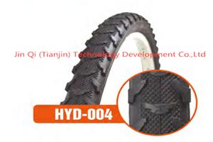 Neumático tubular bicicleta antideslizante neumático de bicicleta de montaña negro 26X1.95