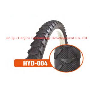 Tubular tire bicycle non-slip black Mountain bike tyre 26X1.95
