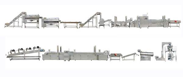 Frozen french fries solution 50-2000kg