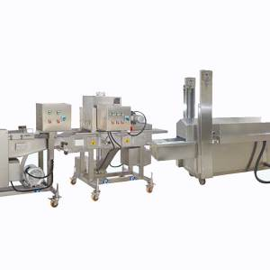 Chicken nugget and patty solution 50-1000kg
