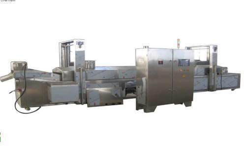 continue fryer machine