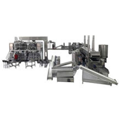 TCA 100kg/h Potato Chips Machinery Chips making machine mini potato chips machine Best Seller in China