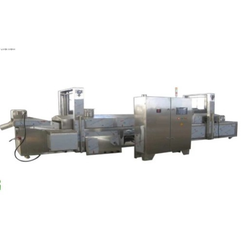 Function of continuous fryer