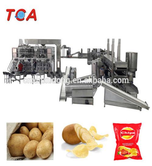 Full Automatic Potato Chips Making Machine