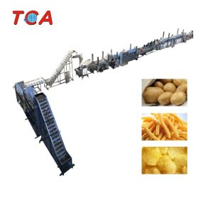 500kg/h Automatic potato chips machine potato chip frying machine