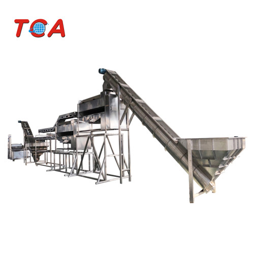 automatic frozen french fries production line chips cutter machine