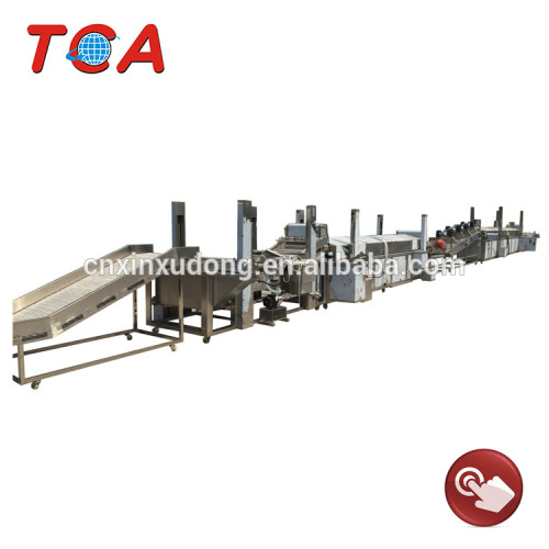 Excellent quality full automatic potato chips production line
