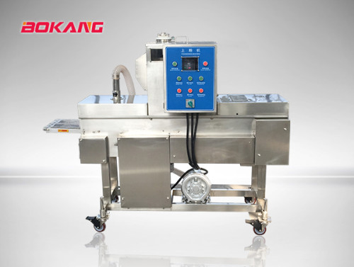 100-1000kg chicken nuggets production line/patty making machine