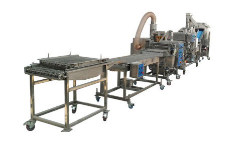 fully automatic high quality french fries production line