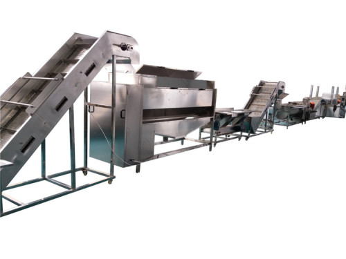 500kg/h potato chips and frozen french fries production line