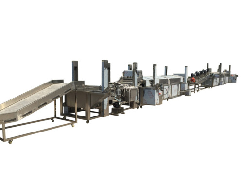1000kg/h potato frozen french fries production line for frozen french fries