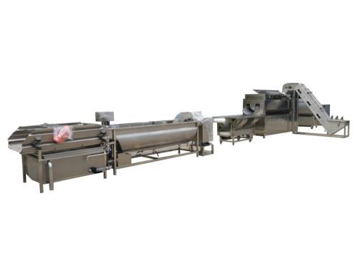 Automatic potato chips production line / potato chips making machine