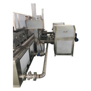 Automatic potato chips production line / potato chips making machine