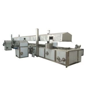 Automatic potato chips  processing line