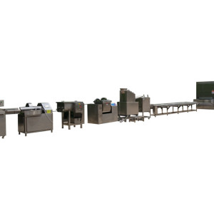 automatic potato chips production line