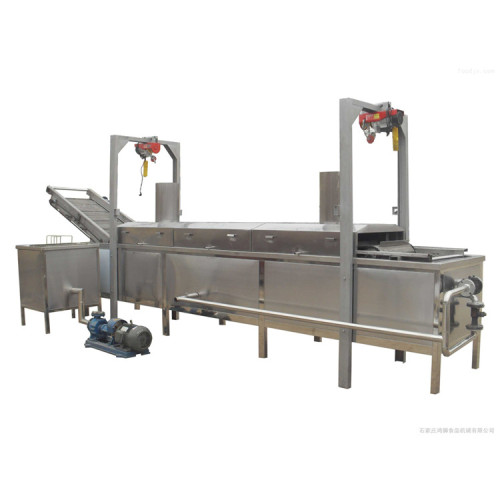500kg/h potato frozen french fries production line