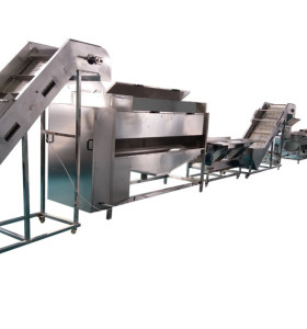 200kg/h frozen french fries production line