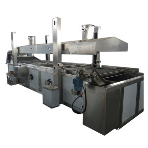 Automatic french fries production machine