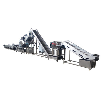 China supplier xinxudong full automatic potato chip machine of chips production line