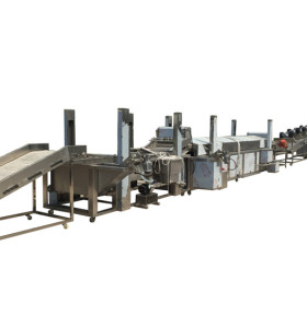 Full automatic potato chip machine potato chips production line