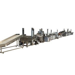potato chip machine potato chips production line